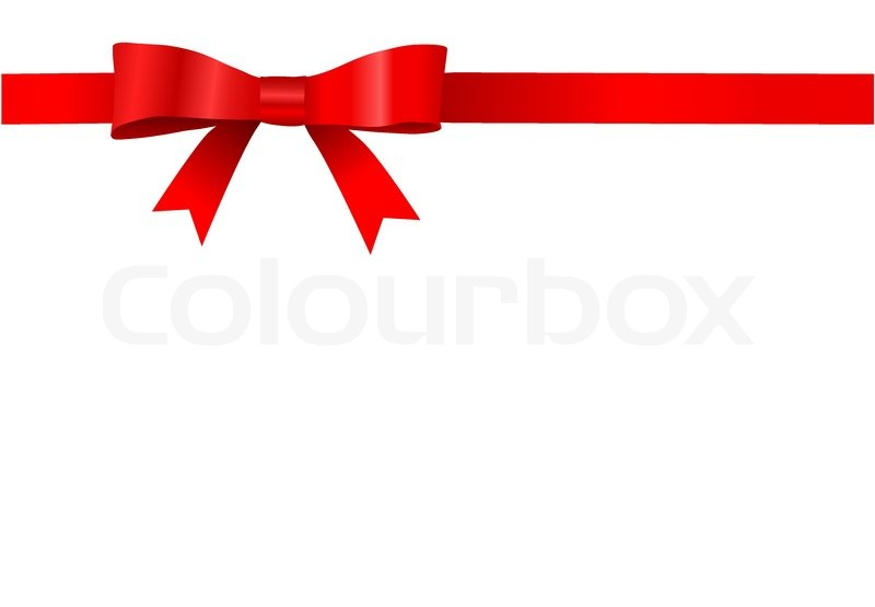 Stock vector of 'Vector red bow design'