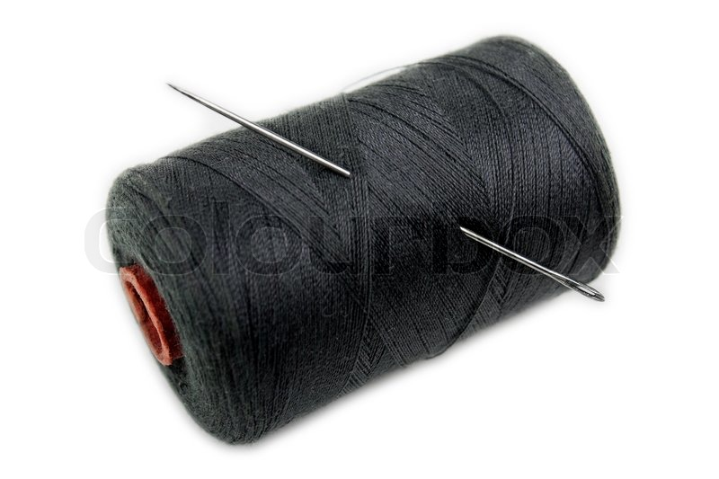 Threads And Fibers Mail: Sharp Needle In Sewing Craft Cotton Thread Spool