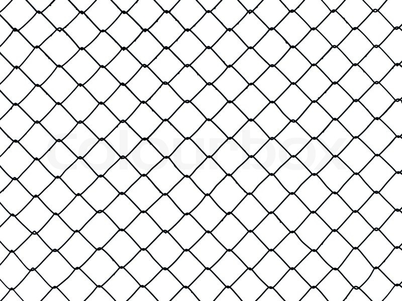 Metal wire fence protection chainlink background | Stock Photo ...