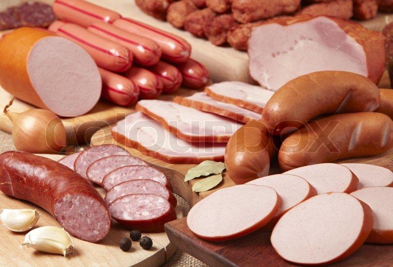 Gr ntsag forskellige m rbrad stock foto colourbox - Alimentos frios ...