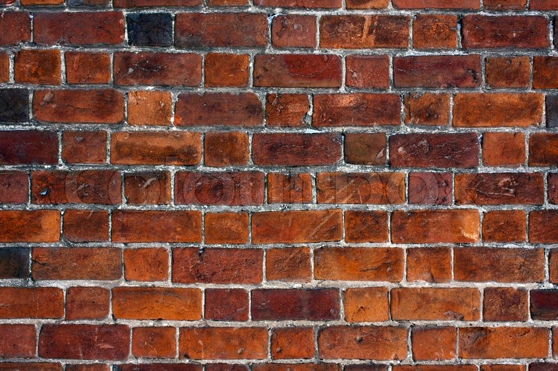 Brick wall background urban city building scene | Stock ...
