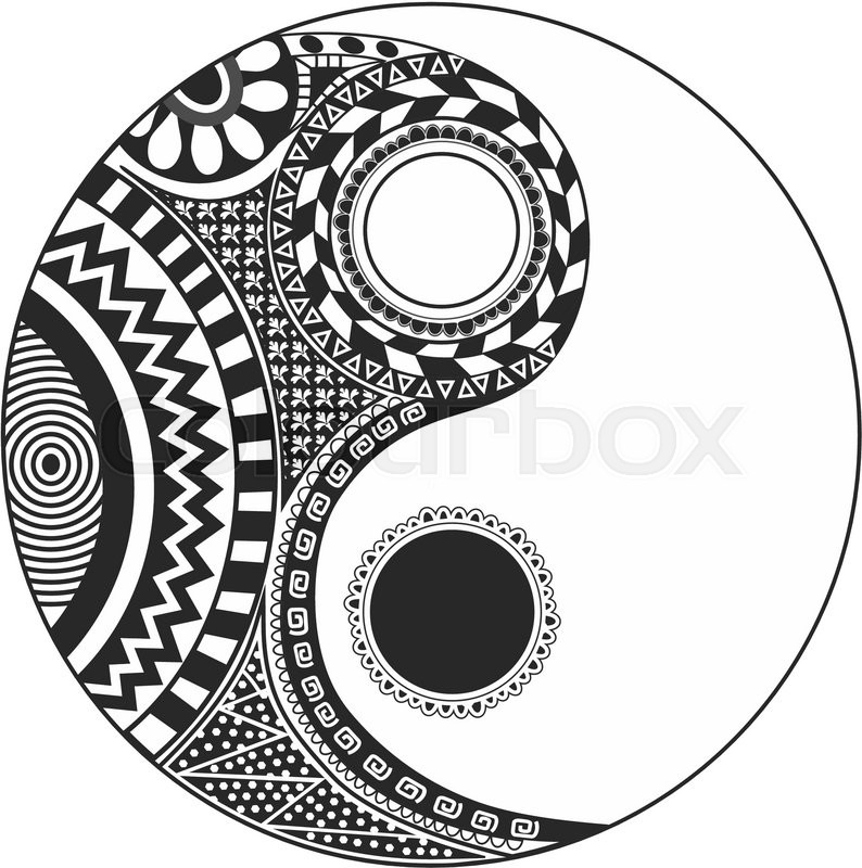 The Yin And Yang Theory Very Old Symbol Of Duality That Exists In