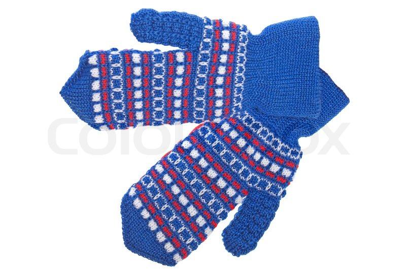 Cold Winter Season Wool Clothing Human Stock Image