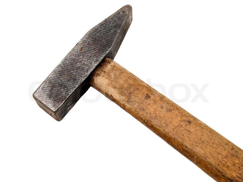 hammer werkzeug f r zu hause aus arbeiten bau verbesserung stockfoto colourbox. Black Bedroom Furniture Sets. Home Design Ideas