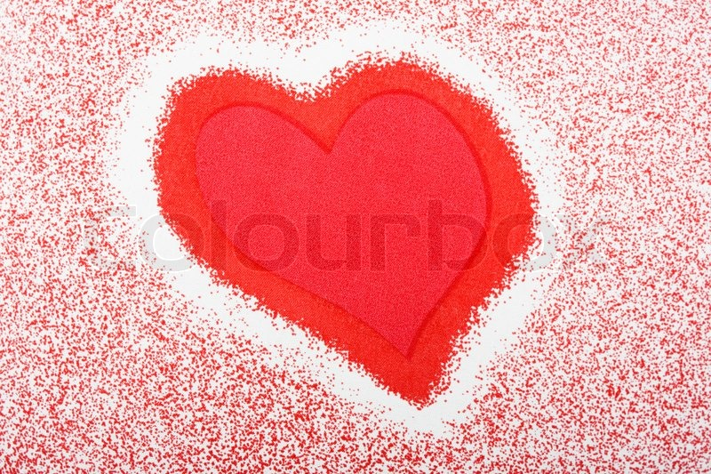 red love heart background. Image of #39;Valentines day red love heart shape ackground#39;