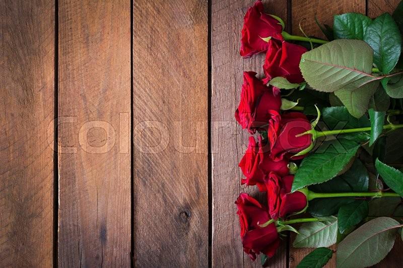 Geburtstag Romantisch Rustikal Stockfoto Colourbox