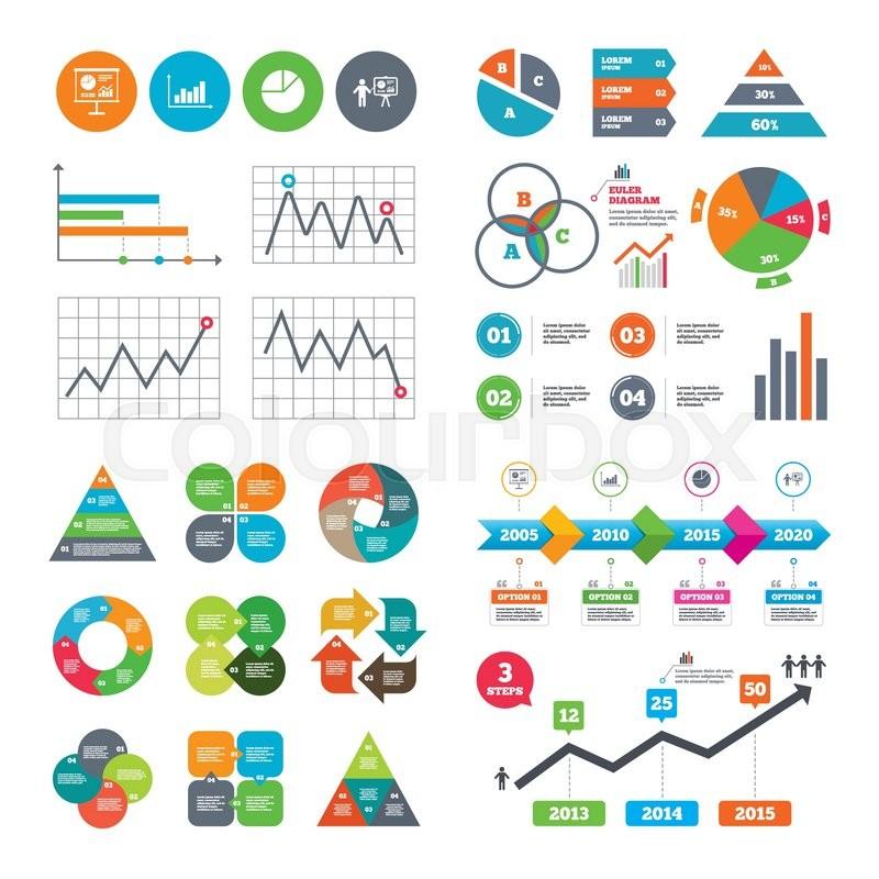 Business Data Pie Charts Graphs Diagram Graph Pie Chart Icon