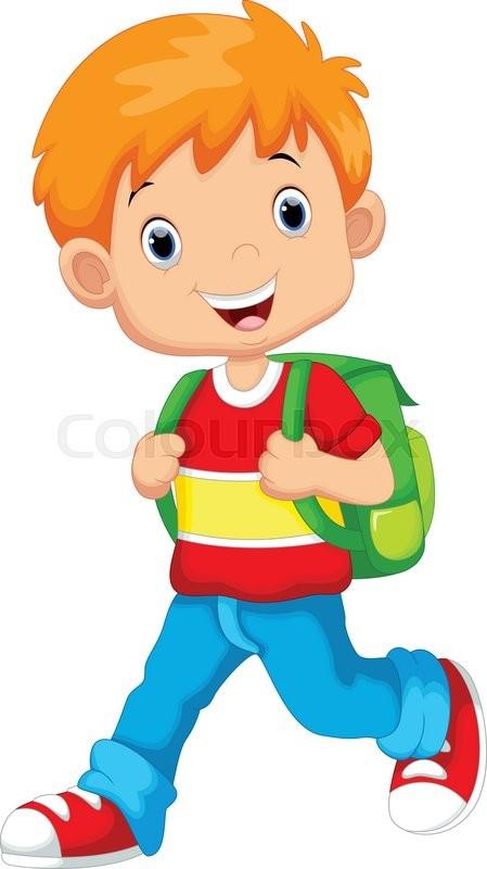 Premium Vector | Cute little boy cartoon