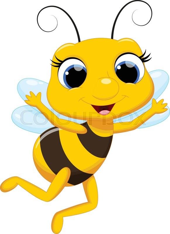 Cartoon Queen Bee  Free Download Clip Art  Free Clip Art