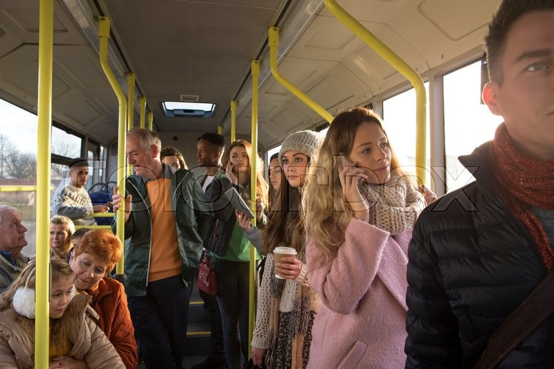 Different People Can Be Seen Travelling   Stock Photo -2480