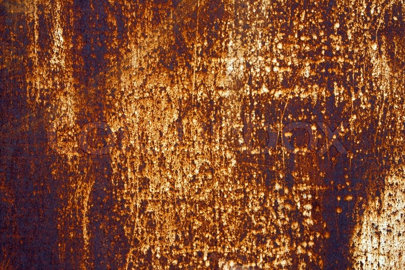 Old Dirty Rusty Steel Metal Textured Stock Photo