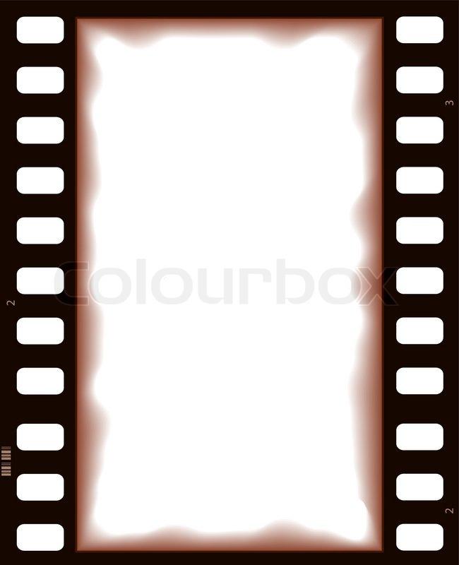 Vector Film Strip Retro Background Stock Vector Colourbox