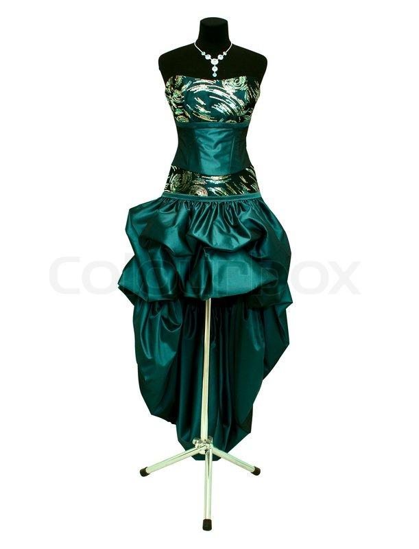 Фото вечернего платья на манекене