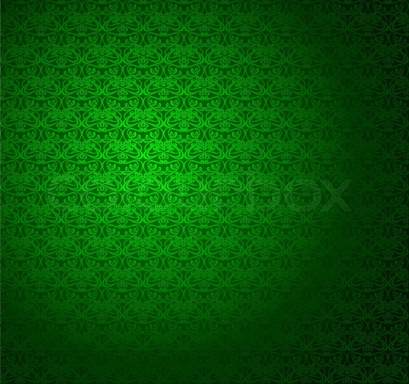 green stripe seamless wallpaper vector illustration
