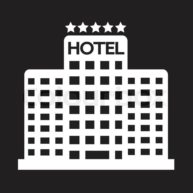 Five Star Hotel Icon | Stock Vector | Colourbox
