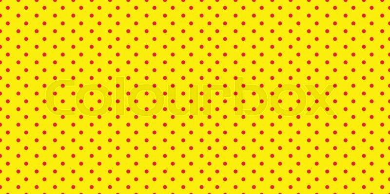 Sesame Street Polka Dot Background Duotone Red Y