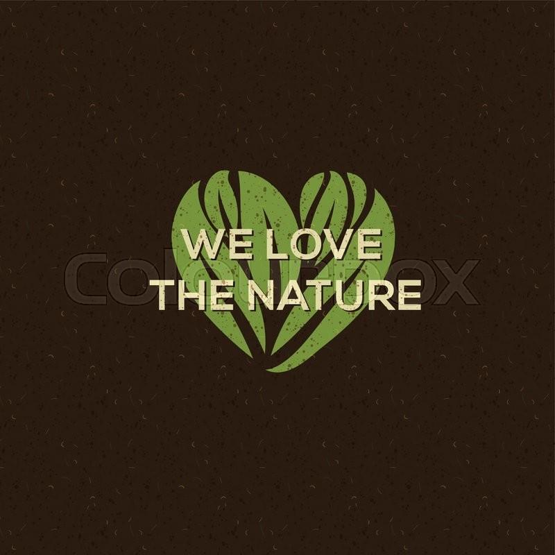 Organic food logo, emblem for natural food and drink, vegetarian restaurants and products, vector illustration, vector