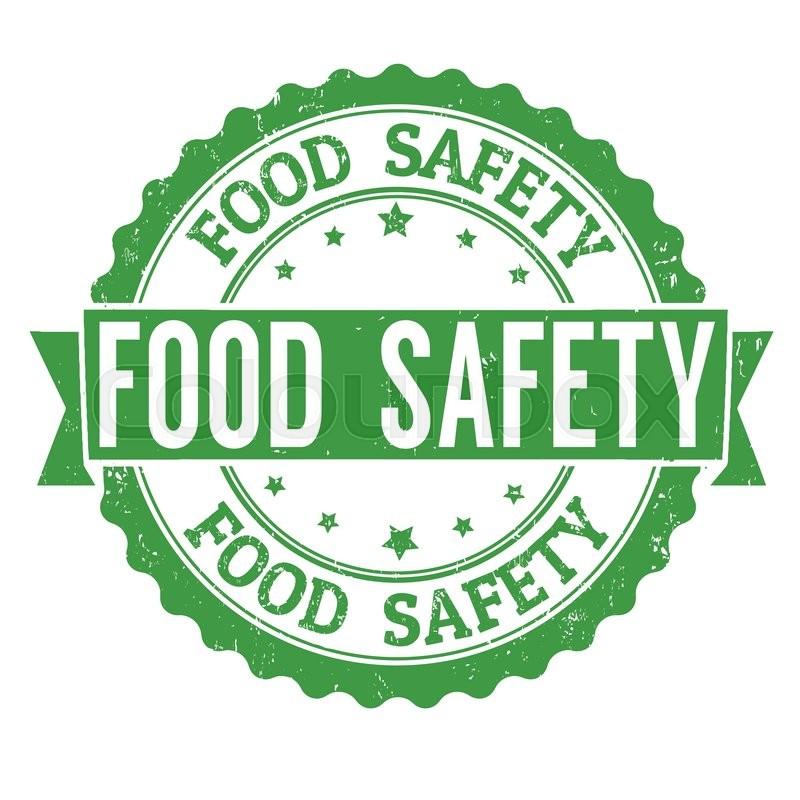Food Safety Grunge Rubber Stamp On ...