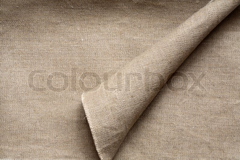 High Resolution Image Of Bleached Burlap Material Great Background Or Texture Layer