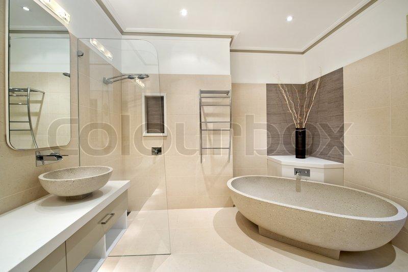 Bathroom Interior Design Home Luxury Mirror Mosaic Bathroom Modern Sink Tile Texture