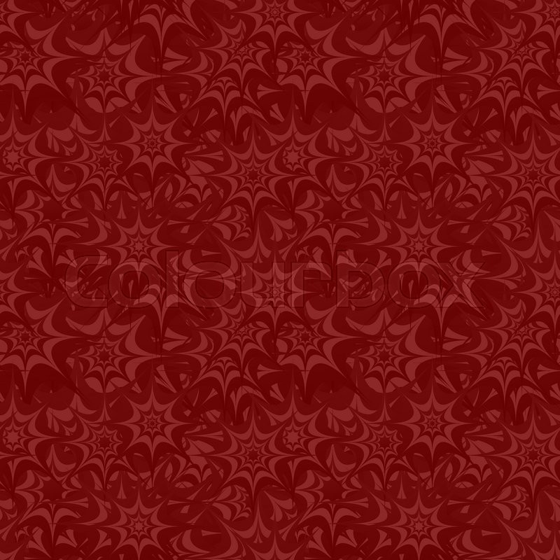 maroon seamless star pattern background stock vector