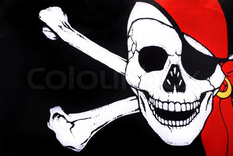 pirate symbol totenkopf stock foto colourbox. Black Bedroom Furniture Sets. Home Design Ideas