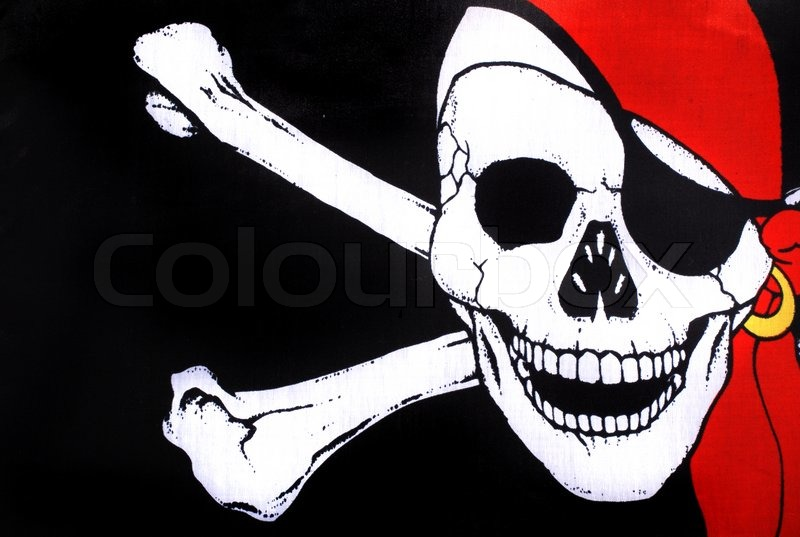 Pirate Symbol Skull And Crossbones Stock Photo Colourbox