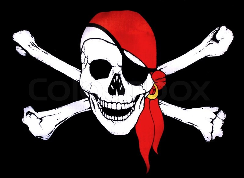 Pirate -Symbol , Totenkopf | Stockfoto | Colourbox