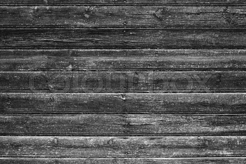 Grey Wood Background Textured Pattern Plank Wall Stock