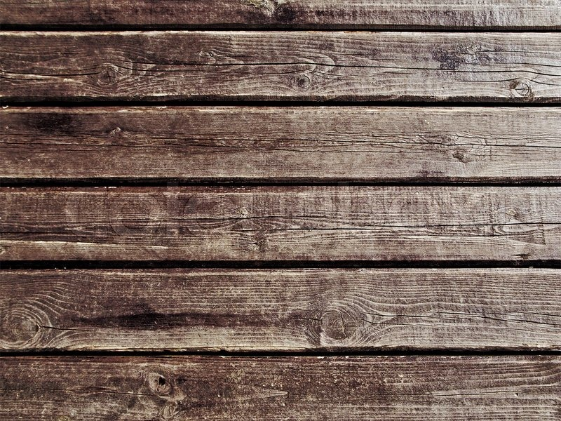 Brown Wood Background Textured Pattern Plank Wall Stock