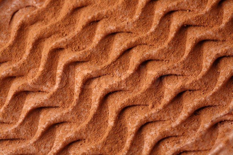 Ice-cream texture: cho...