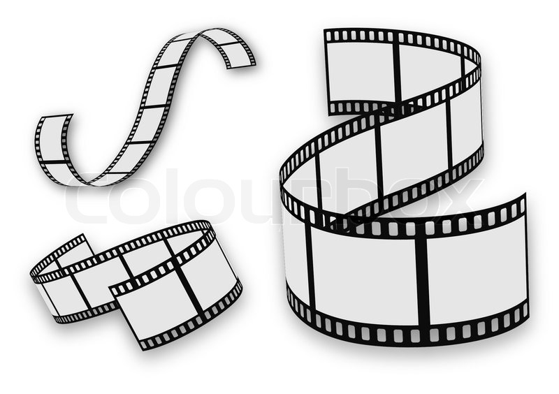 film strip set stock vector colourbox rh colourbox com film strip vector download film strip vector free download