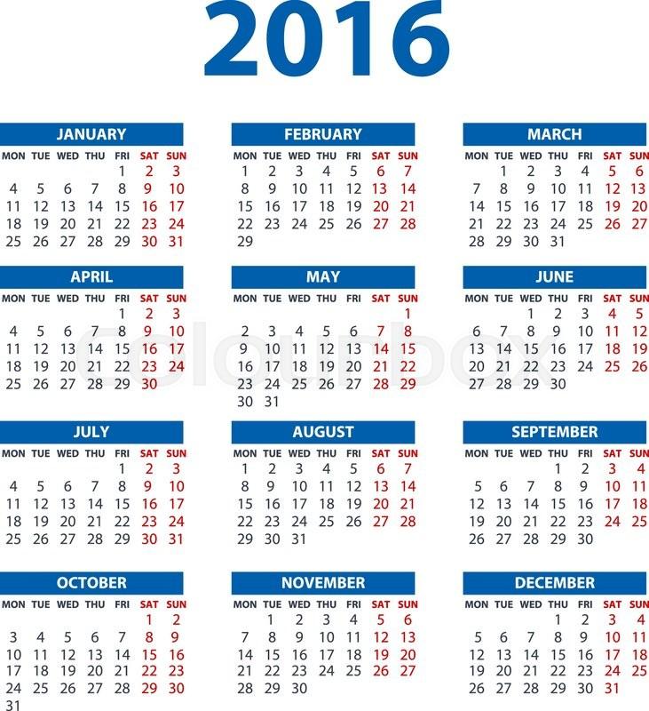 Calendar Illustration Jobs : Calendar illustration art vector color design