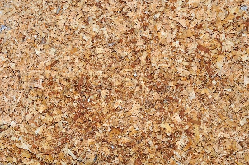 How Different Are Wood Shavings And Sawdust ~ Hobelspäne und sägemehl textur hintergrund stock foto