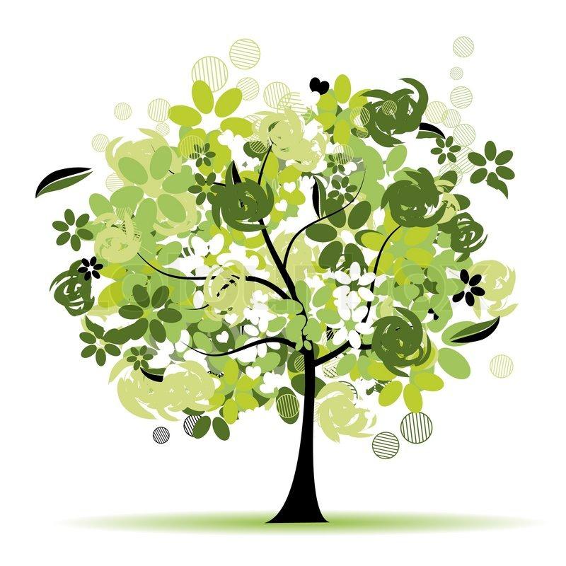 Stock vector of plants cartoon vector