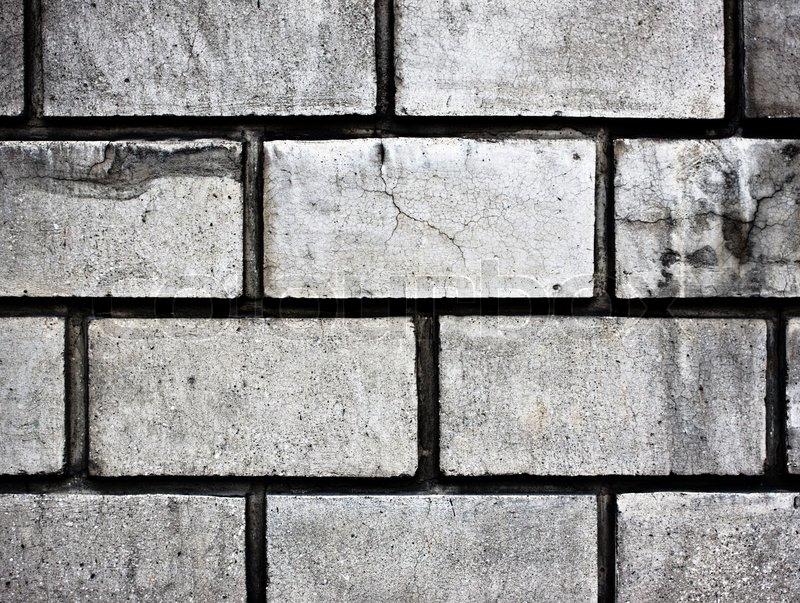 Gray Cartoon Brick Wall Texture : Grey brick wall high resolution texture background stock