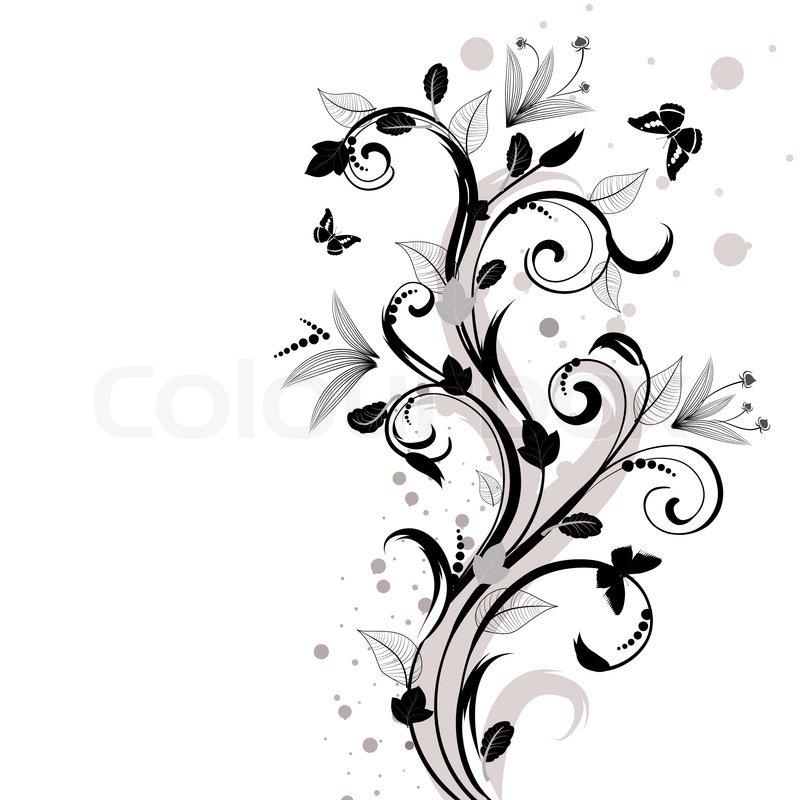 Stock vektor von tätowierung tattoo schriftrolle