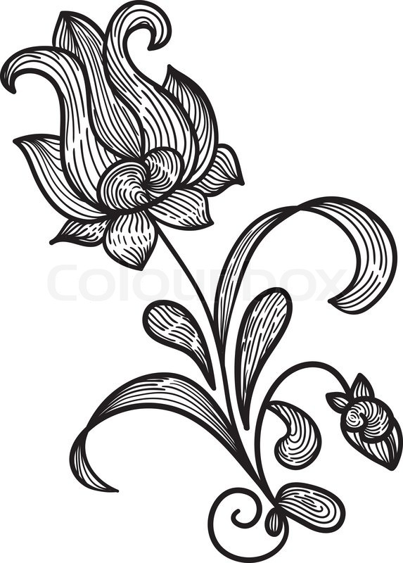 Flower designs for drawing simple flower drawing designs flower designs for drawing mightylinksfo