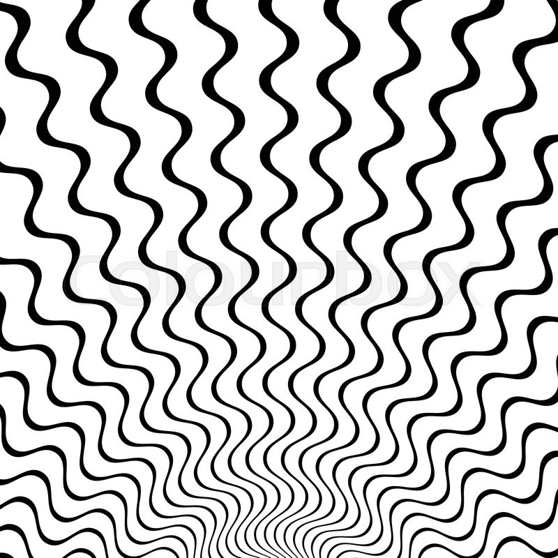 Zigzag Line Drawing : Abstract starburst background with zigzag wavy lines