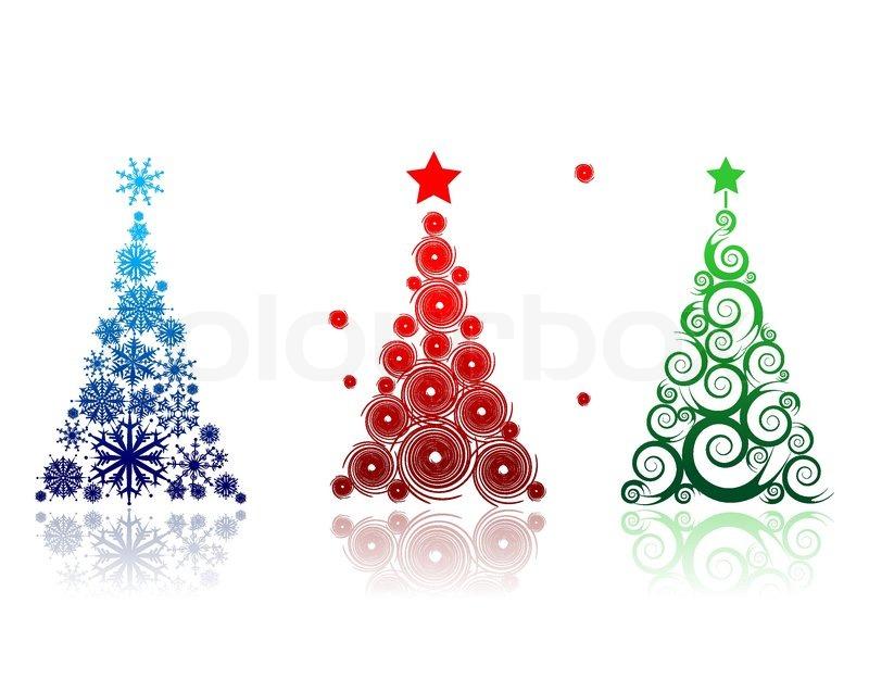 Weihnachtsbaum Fur Ihr Design Schon Stock Vektor Colourbox