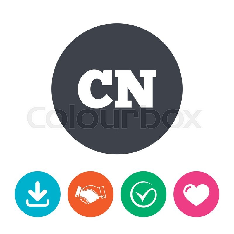 Chinese Language Sign Icon Cn China Translation Symbol Download
