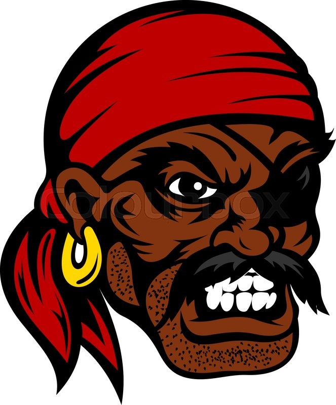 Pirate face vector - photo#20