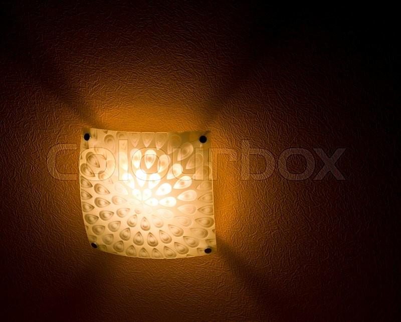 Night lamp, stock photo