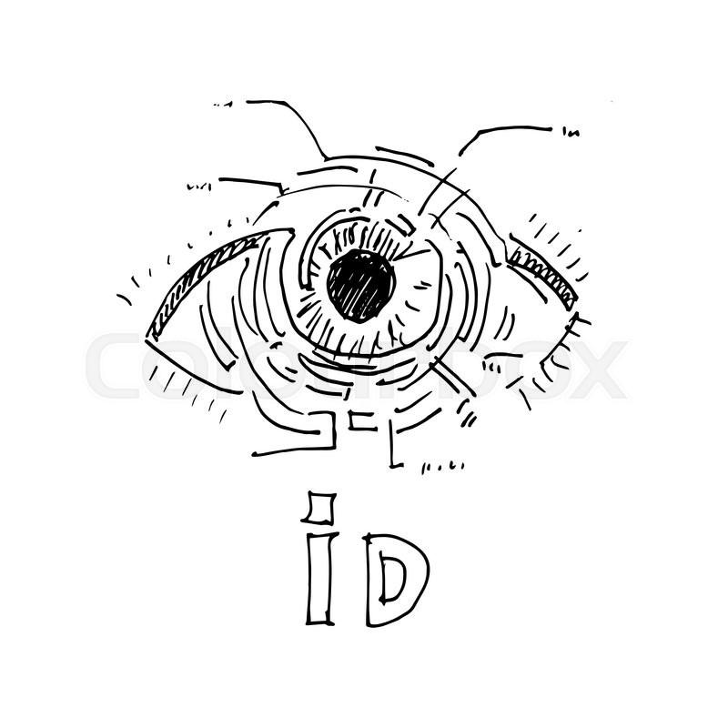 Digital Security Vector Illustration