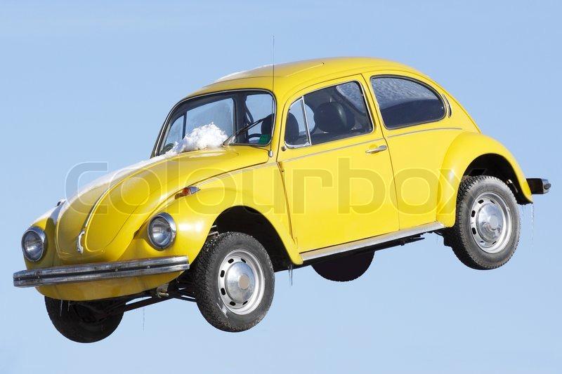 Stock foto af 'flyvende bil under åben himmel'