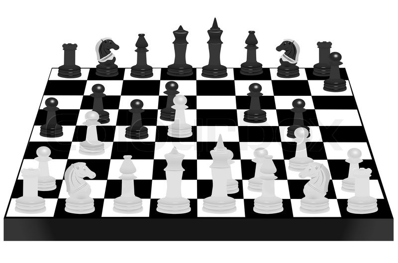 free illustration chessboard render - photo #30