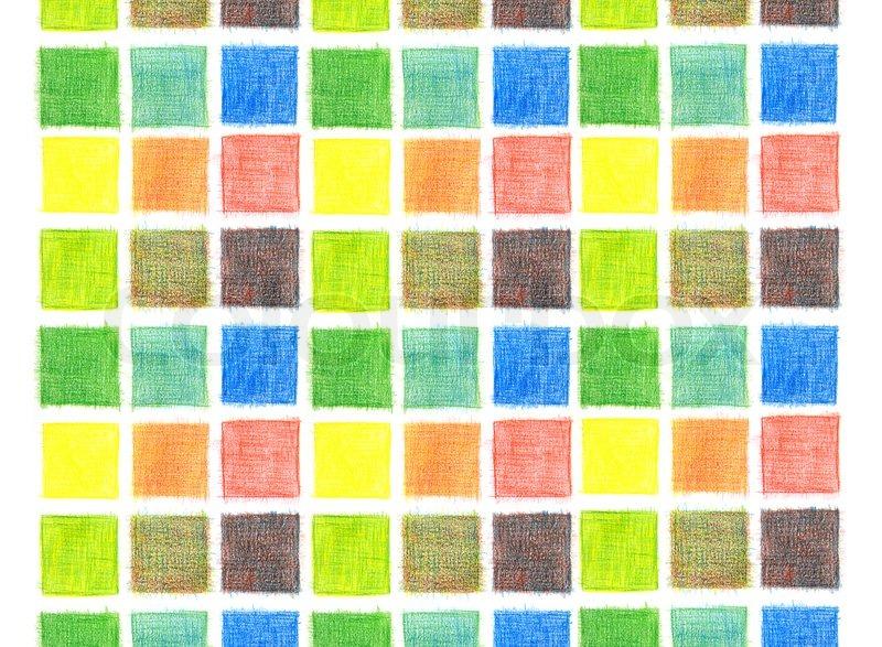Color mix background, pencils, stock photo