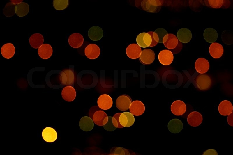 Abstract Bokeh Background Natural Light And Colors