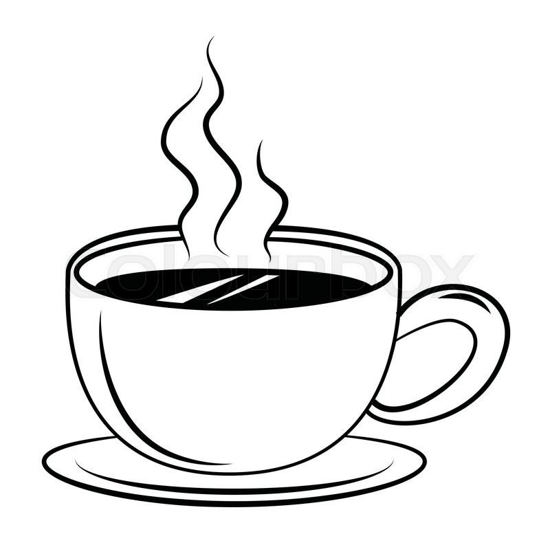 Coffee Symbol Stock Vector Colourbox
