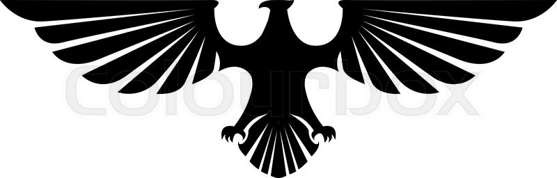 eagle wings illustration stock vector colourbox eagle wings illustration stock vector